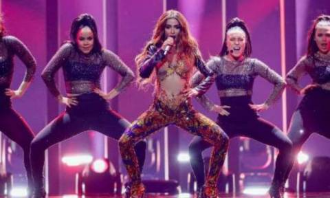 Eurovision 2018: Και όμως! Η Ελένη Φουρέιρα είχε «κατέβει» στο διαγωνισμό με τα ελληνικά χρώματα!