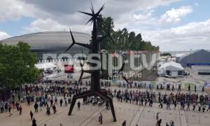 Eurovision 2018: Πανικός έξω από το Altice Arena στη Λισαβόνα