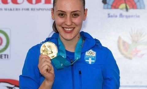 Χρυσό μετάλλιο στο Παγκόσμιο Κύπελλο για την Άννα Κορακάκη