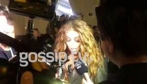 Eurovision 2018: Αποθέωση για την Φουρέιρα έξω από το στάδιο - Οι πρώτες δηλώσεις της