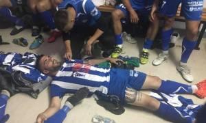 Γ' Εθνική: Επεισόδια στην Αμαλιάδα, έπεσε ξύλο στο ημίχρονο - Τραυματίστηκαν παίκτες (photos)