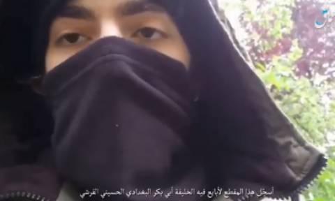 Το Ισλαμικό Κράτος ανέβασε βίντεο με τον Τσετσένο τζιχαντιστή που έσπειρε το θάνατο στο Παρίσι