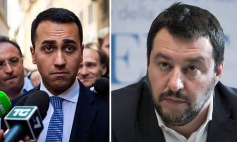«Μάχη» στην Ιταλία για τα υπουργεία μεταξύ Πέντε Αστέρων