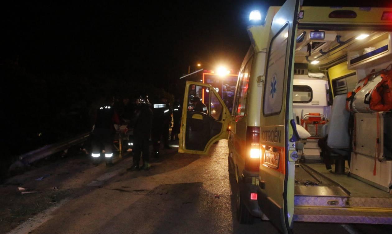Αποτέλεσμα εικόνας για τραγικο τροχαιο ατυχημα νυχτα