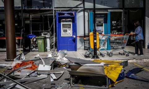 Συναγερμός στην Αστυνομία: Εκρήξεις σε ΑΤΜ στον Υμηττό και την Παλλήνη (vid)