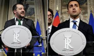 Εξελίξεις στην Ιταλία: «Κλείδωσε» η συμφωνία Πέντε Αστέρων - Λέγκα για κυβέρνηση συνεργασίας