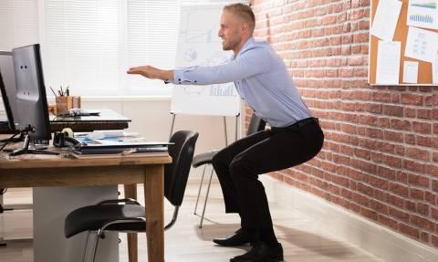 Να πώς θα κάνεις τη γυμναστικούλα σου όση ώρα δουλεύεις!