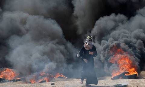 «Λουτρό αίματος» στη Γάζα: Δεκαέξι Παλαιστίνιοι νεκροί - Δεκάδες οι τραυματίες