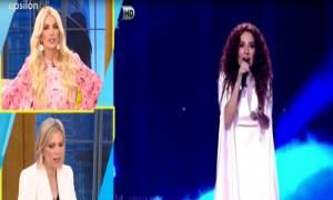 Eurovision 2018: Η Χαλκίτη «άδειασε» την ΕΡΤ- Η αντίδραση του Λιζάρδου