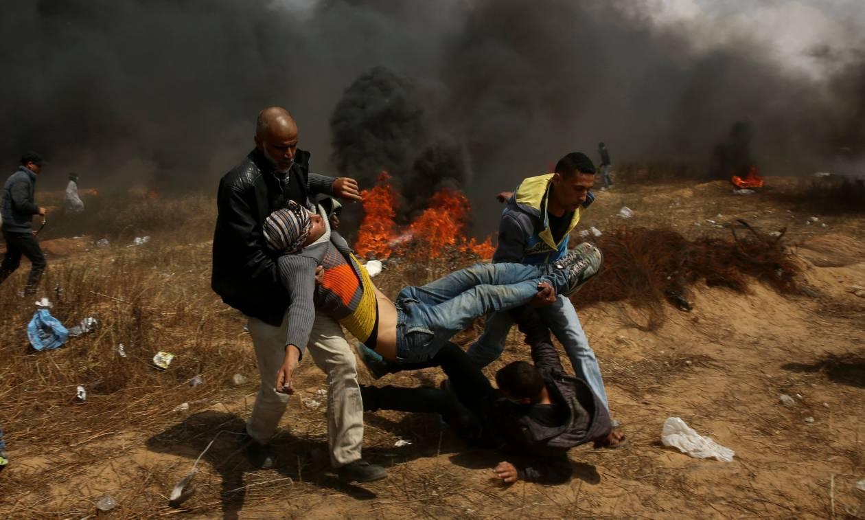 Απεγνωσμένη έκκληση ΟΗΕ προς Ισραήλ: Μην πυροβολείτε τους διαδηλωτές στη Γάζα