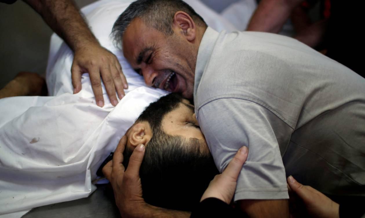 Τριήμερο εθνικό πένθος στην Παλαιστίνη για τη σφαγή στη Γάζα