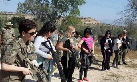 Επική γκάφα των Τούρκων για «στρατιωτικές ασκήσεις με γυναίκες και παιδιά στην Κύπρο» (pics)