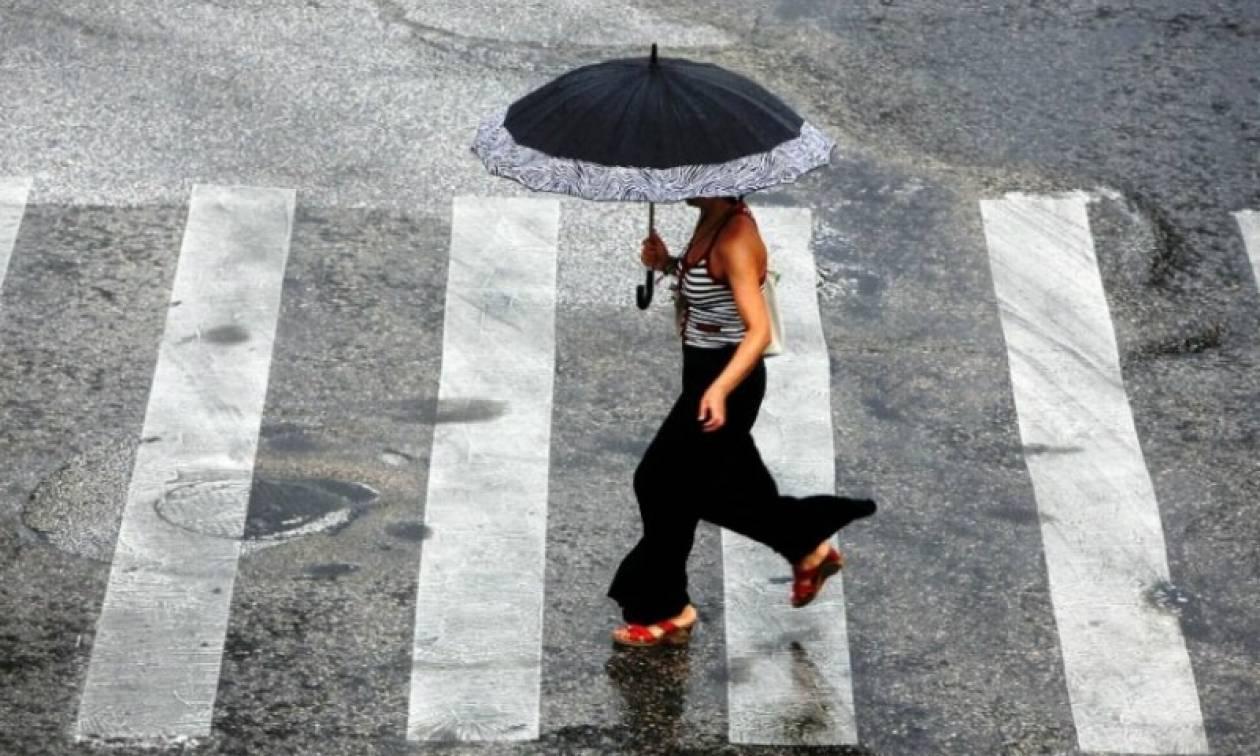 Προσοχή! Η ΕΜΥ προειδοποιεί για νέο κύμα κακοκαιρίας με ισχυρές βροχές, καταιγίδες και χαλάζι