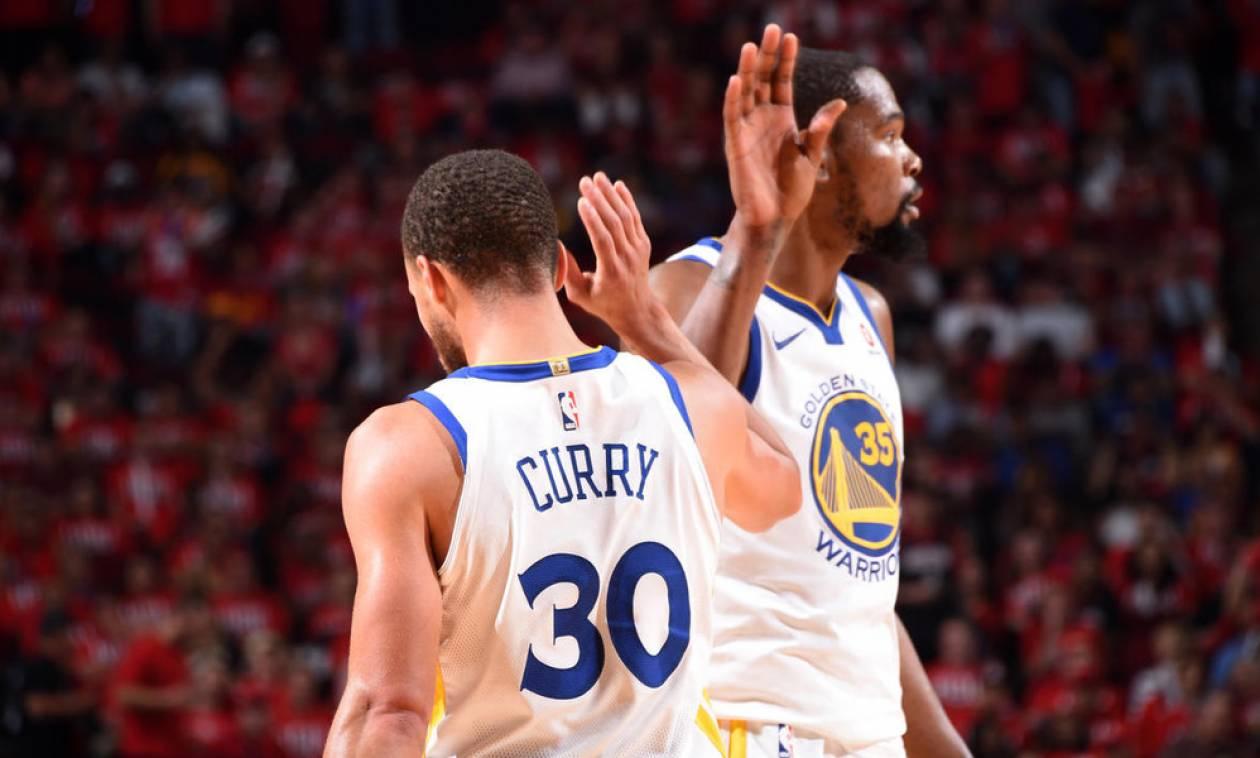 NBA: Κέρδισαν την πρώτη «μάχη» οι «Πολεμιστές» (pics+vid)