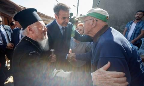 Μητσοτάκης: Παράδειγμα ειρηνικής συνύπαρξης Ελλήνων και Τούρκων η Ίμβρος (pics)