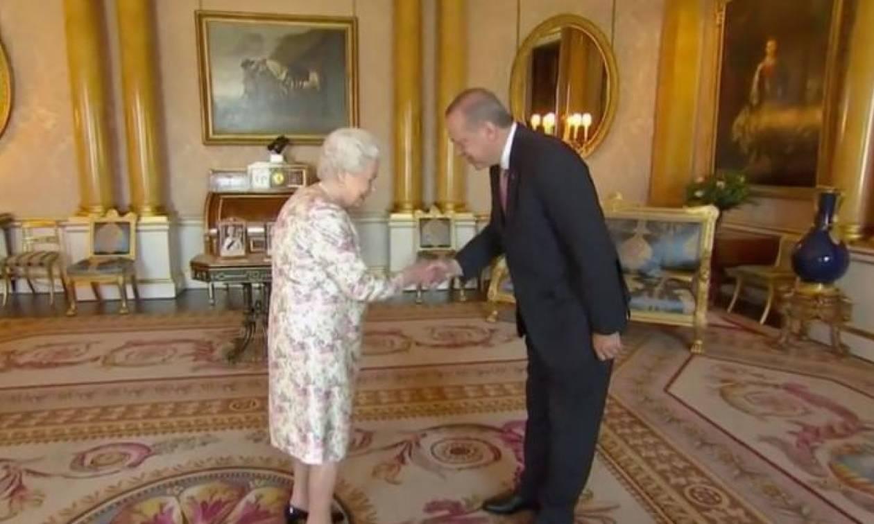 Λονδίνο: Στο Παλάτι ο Ερντογάν - Συνάντηση με Κάρολο και βασίλισσα Ελισάβετ (vids)