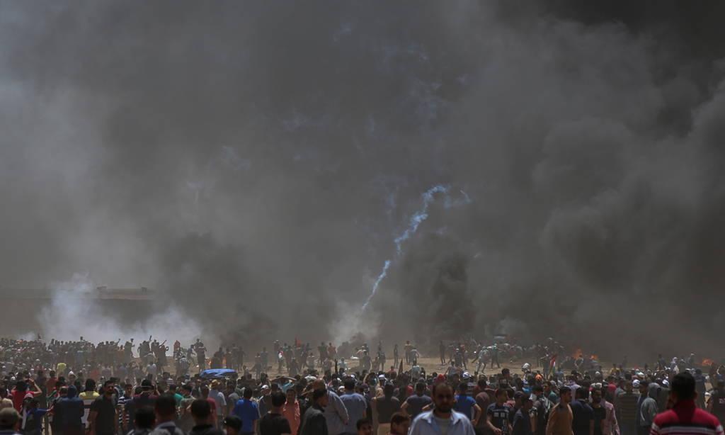 Στο αίμα βάφτηκε πάλι η Γάζα: Σκότωσαν Παλαιστίνιο διαδηλωτή την ώρα που έθαβαν τους νεκρούς