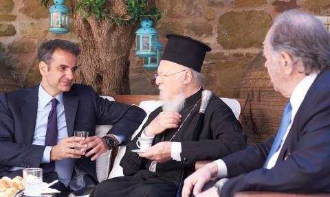 Μητσοτάκης: Οδηγός για τις ελληνοτουρκικές σχέσεις η ειρηνική συνύπαρξη στην Ίμβρο