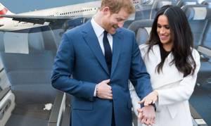 Βασιλικός γάμος: Μια πτήση γεμάτη… Χάρι και Μέγκαν!