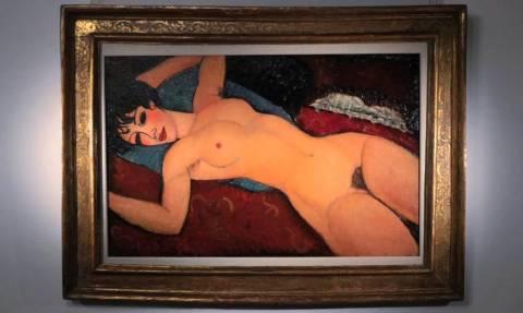 Ένας... γυμνός Μοντιλιάνι πουλήθηκε για 157,2 εκατ. δολάρια!