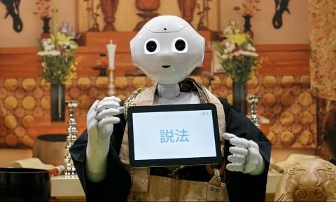 Κίνα: Ρομπότ-βουδιστής ιερέας κάνει κηδείες