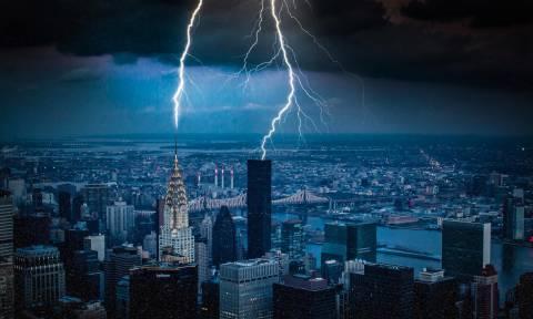 Σαρωτικές καταιγίδες χτυπούν τις ΗΠΑ: Εκατοντάδες χιλιάδες σπίτια στο σκοτάδι - Πέντε νεκροί (Pics)