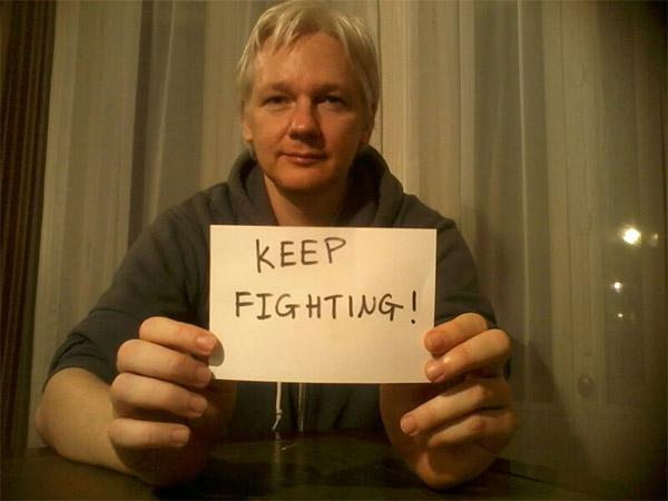WikiLeaks founder Julian Assange will not leave Ecuadorian Embassy in London