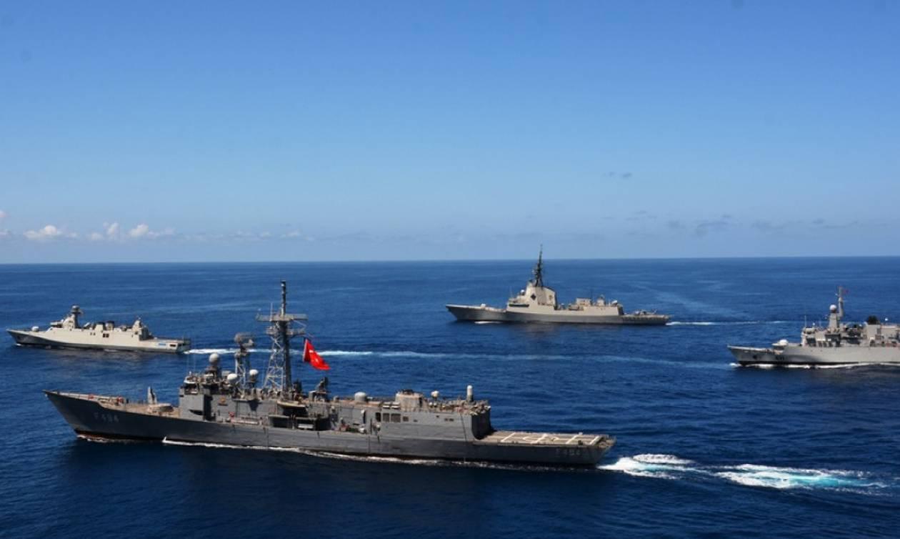 Συναγερμός: Η Τουρκία βγάζει ξανά τον στόλο της στο Αιγαίο