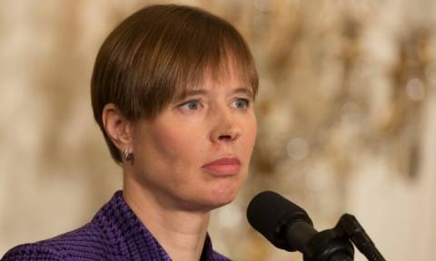 Στην Αθήνα η Πρόεδρος της Εσθονίας: Συνάντηση με Παυλόπουλο, Τσίπρα και Βούτση