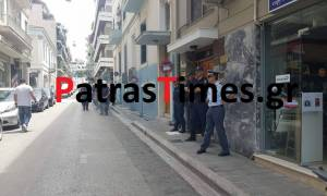 Πάτρα: Επεισόδια στην πορεία κατά των ηλεκτρονικών πλειστηριασμών (vid)