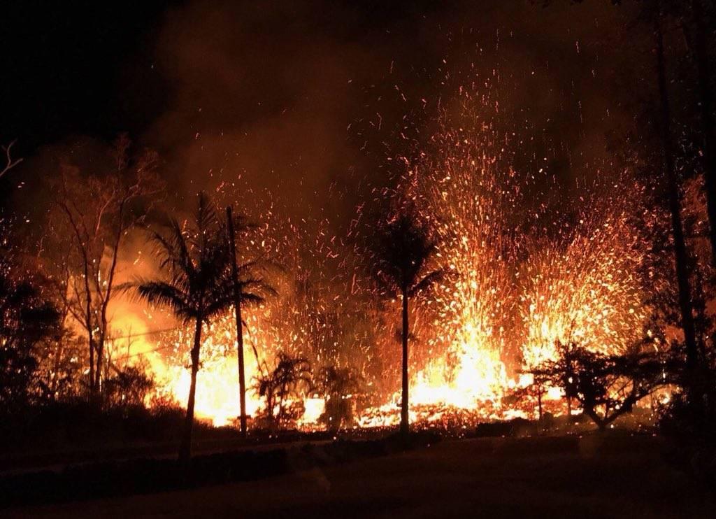 ΕΚΤΑΚΤΟ: Τρόμος στη Χαβάη: Εξερράγη το ηφαίστειο Κιλαουέα