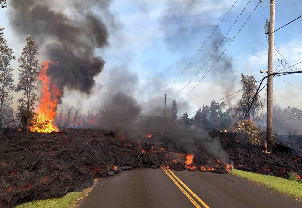 Εξερράγη το ηφαίστειο Κιλαουέα στη Χαβάη: Δείτε LIVE εικόνα