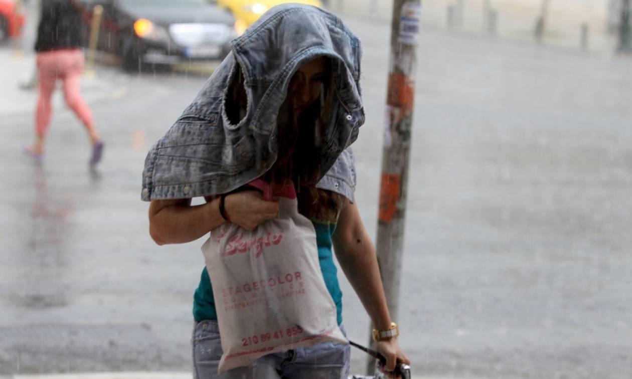 Καιρός: Νεφώσεις και λασποβροχές σήμερα - Σε ποιες περιοχές θα βρέξει