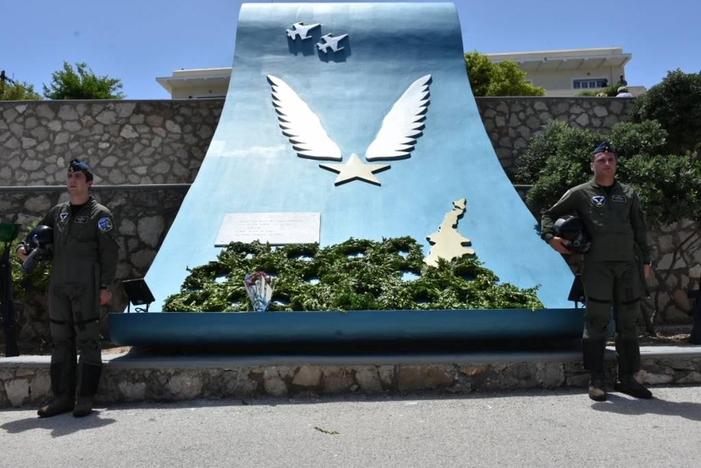 Η Κάρπαθος τίμησε τον ήρωα σμηναγό Κώστα Ηλιάκη - Ηχηρό μήνυμα από τον Αρχηγό ΓΕΕΘΑ