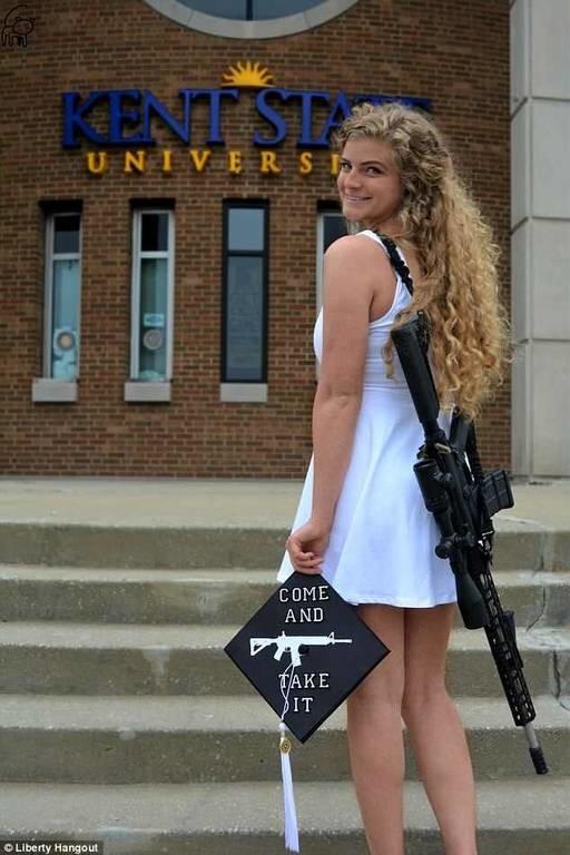 ΗΠΑ: Φοιτήτρια πήγε με αυτόματο στην αποφοίτησή της