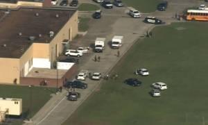 Συναγερμός στις ΗΠΑ: Πυροβολισμοί σε σχολείο του Τέξας - Συνελήφθη ο δράστης (pics+vids)