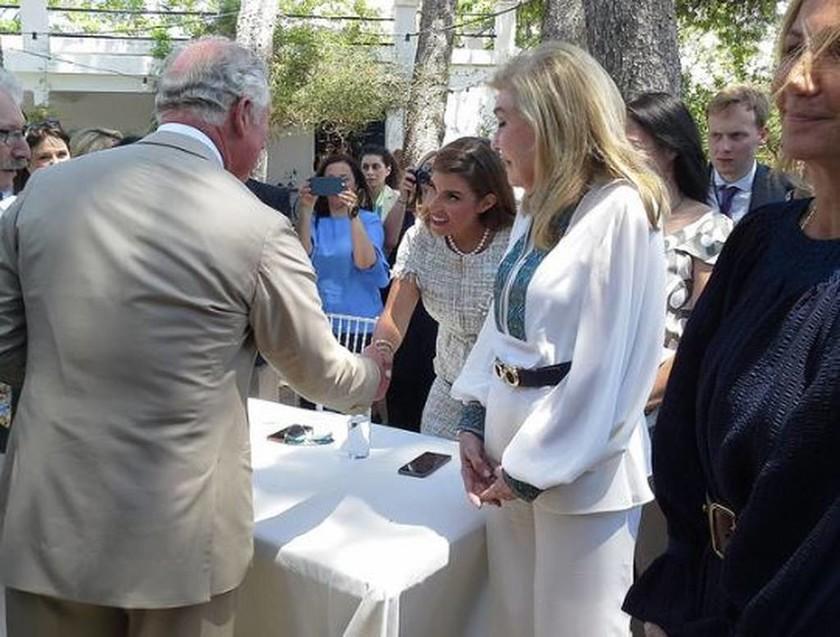 Ο Πρίγκιπας της Ουαλίας και υψηλοί προσκεκλημένοι τίμησαν τον Μινωικό πολιτισμό (pics)