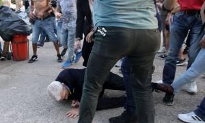Θεσσαλονίκη: Άγρια επίθεση και ξύλο στον Γιάννη Μπουτάρη (vids+pics)