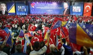 Σόου Ερντογάν στη Βοσνία: «Ψηφίστε τον άνδρα που σας έστειλε ο Θεός» (pics)