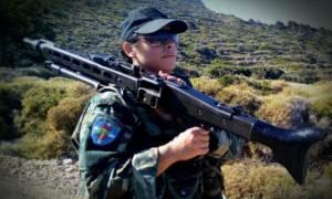 Αυτή είναι η πρώτη Ελληνίδα Εθνοφύλακας: Greek sniper με βολή «φαρμάκι»