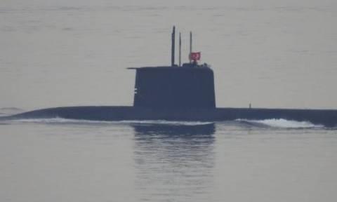 Βίντεο ντοκουμέντο - Τουρκικό υποβρύχιο ανοιχτά της Χίου: Καρέ - καρέ η πορεία του