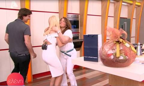 Τηλεοπτική συνάντηση- βόμβα: Η Μπαρμπαρίγου στο πλατό της Ελένης και η ατάκα, που θα συζητηθεί