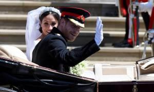 Οι πρώτες επίσημες φωτογραφίες από το βασιλικό γάμο Χάρι και Μέγκαν!