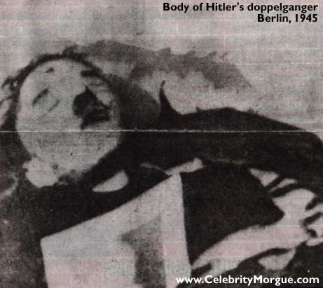 Adolf Hitler Doppleganger