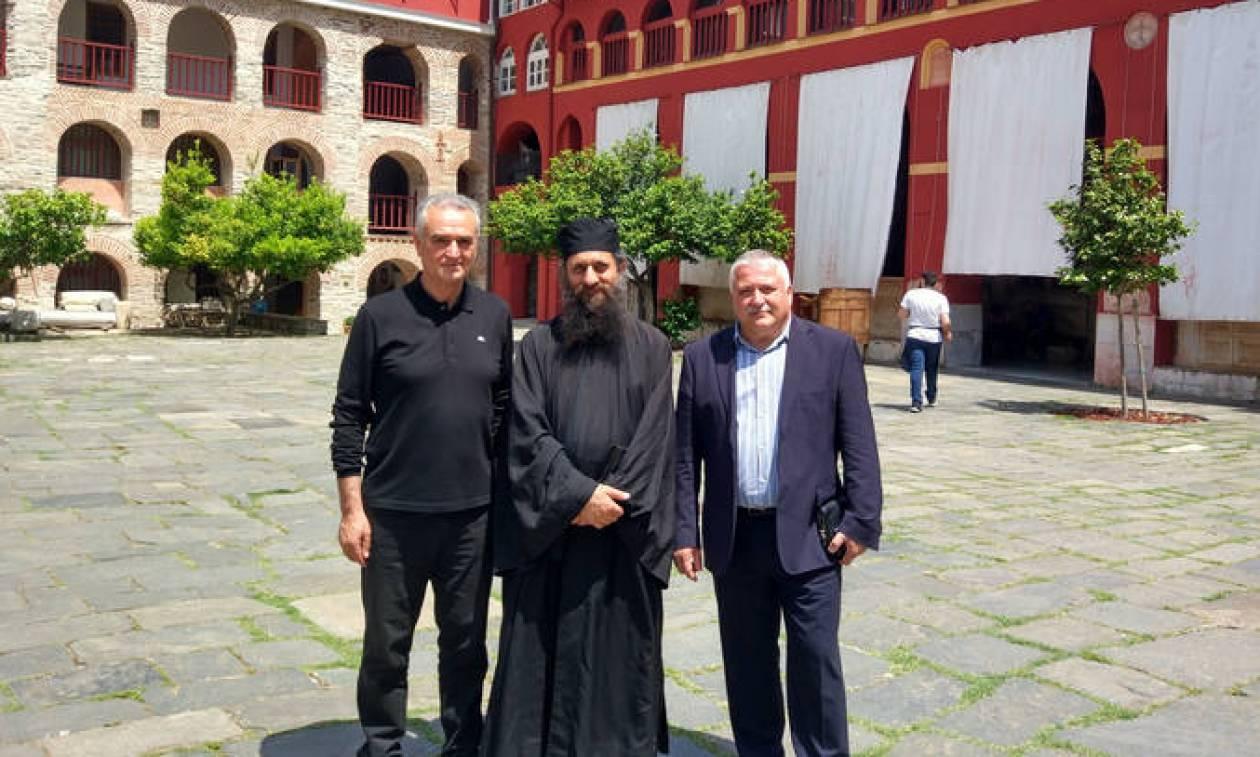 Στο Άγιο Όρος ο ελληνικής καταγωγής κοσμοναύτης Γιουρτσίχιν