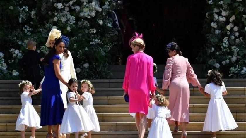 Τα νέα οπίσθια α λα... Πίπα που έκλεψαν την παράσταση στο γάμο της Μέγκαν και του Χάρι (pics)
