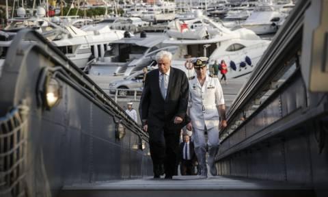 Παρουσία του Προκόπη Παυλόπουλου ο εορτασμός της 45ης επετείου του Κινήματος του Ναυτικού