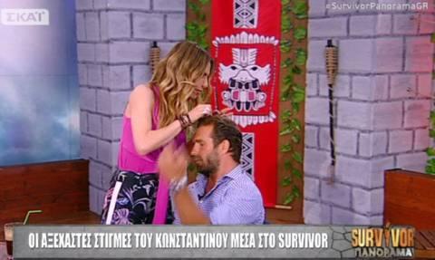 Survivor Πανόραμα: Η Ντορέττα εξέτασε τα… ράμματα του Τσεπάνη on air