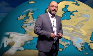 Σάκης Αρναούτογλου: Τι καιρό θα κάνει μέχρι την Κυριακή