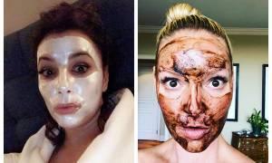 Οι ακομπλεξάριστες σταρ! Ανεβάζουν selfies στα social media με μάσκα προσώπου